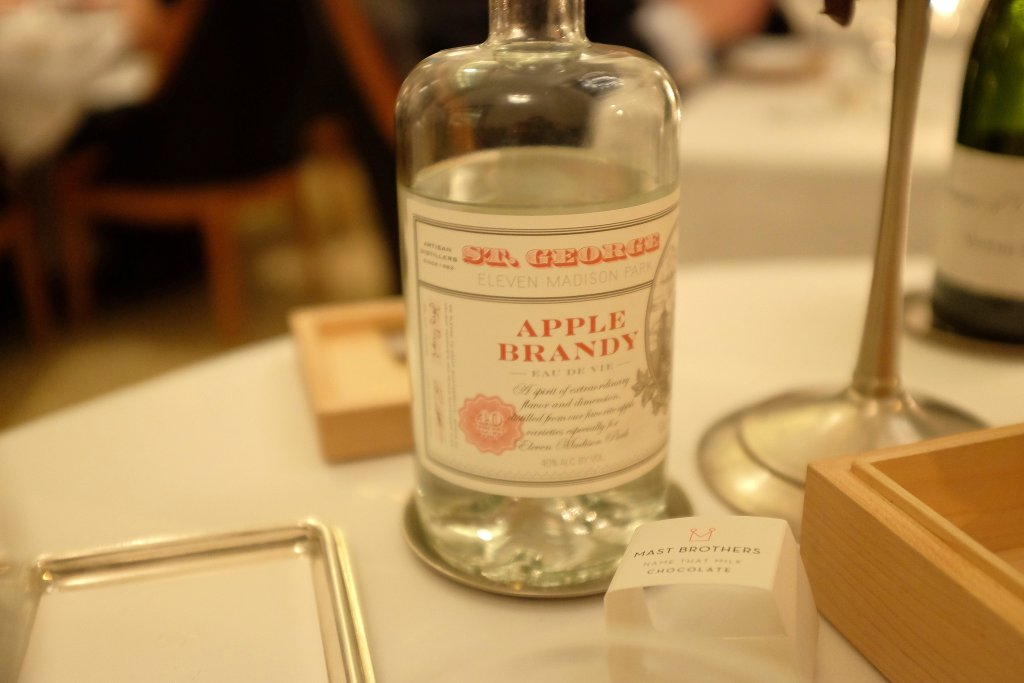 apple brandy, Eleven Madison Park, Chef Daniel Humm, New York, 50 best