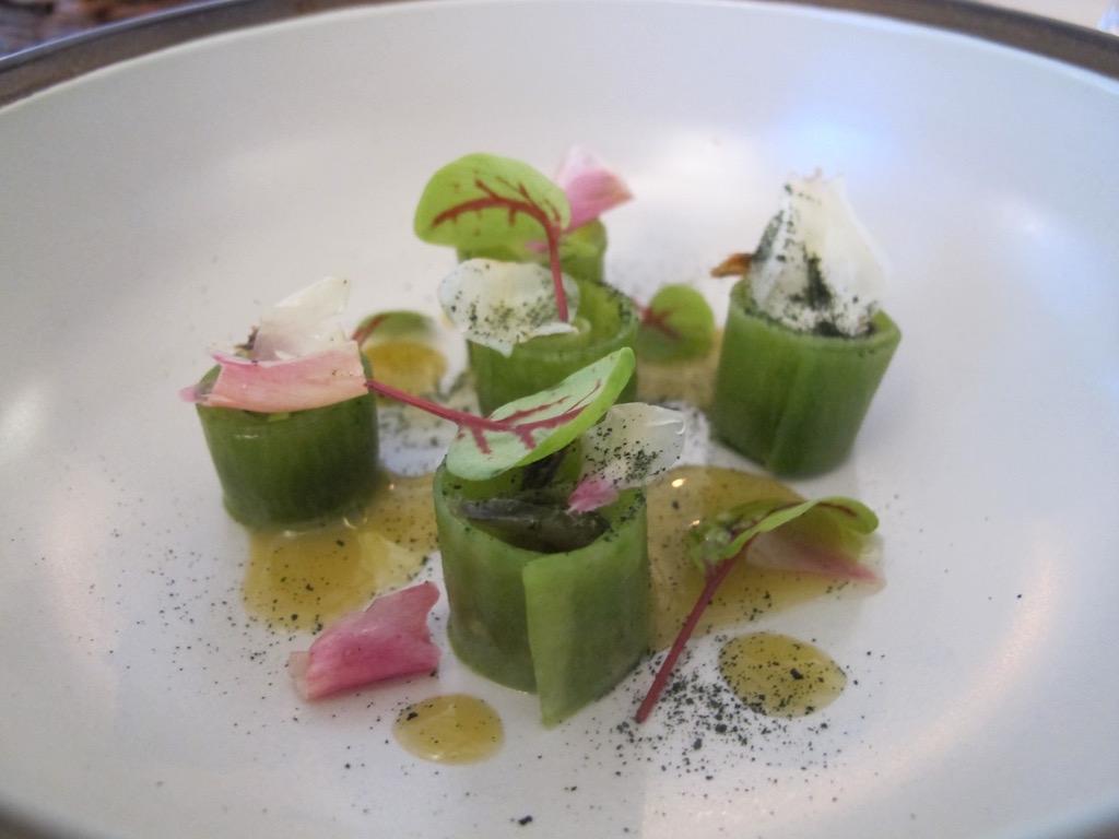 Rapa verde, El Coq, Chef Lorenzo Cogo, Marano Vicentino