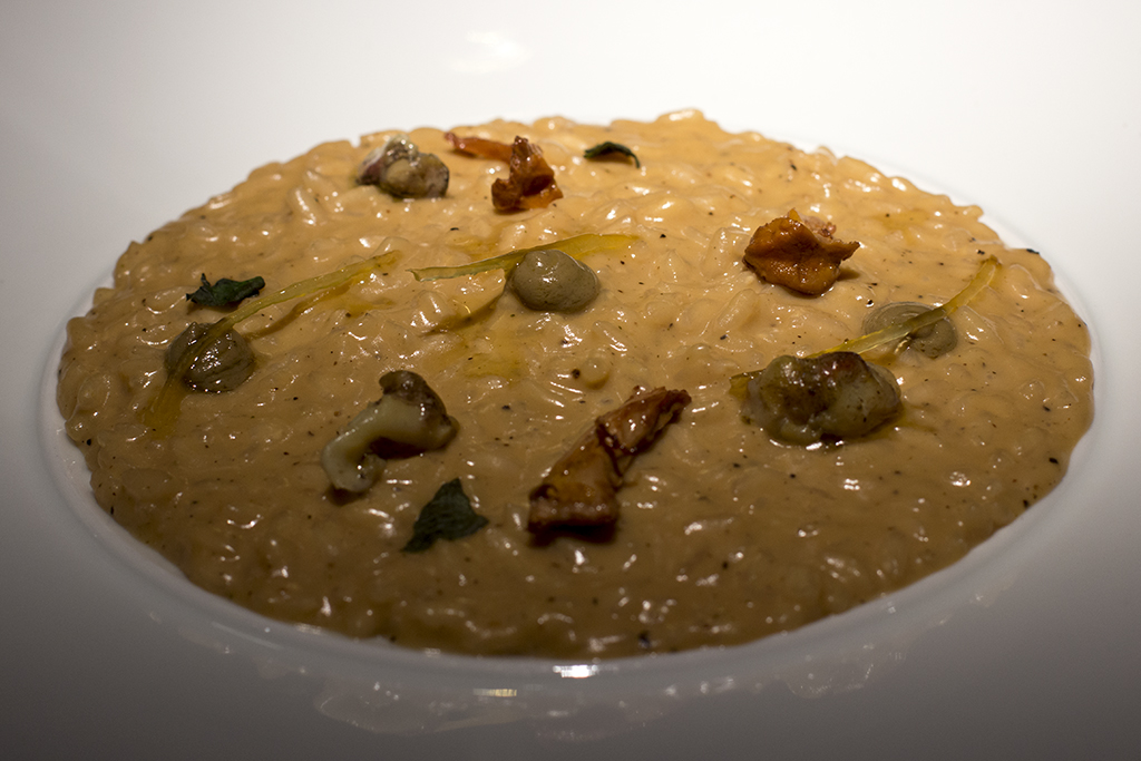 Risotto, Essenza, Chef Eugenio Boer, Milano