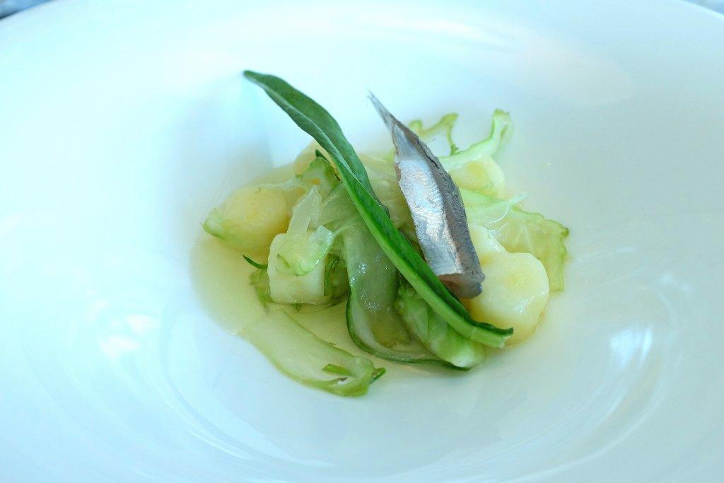 puntarelle, Lux Lucis, Forte dei Marmi, chef Valentino Cassanelli