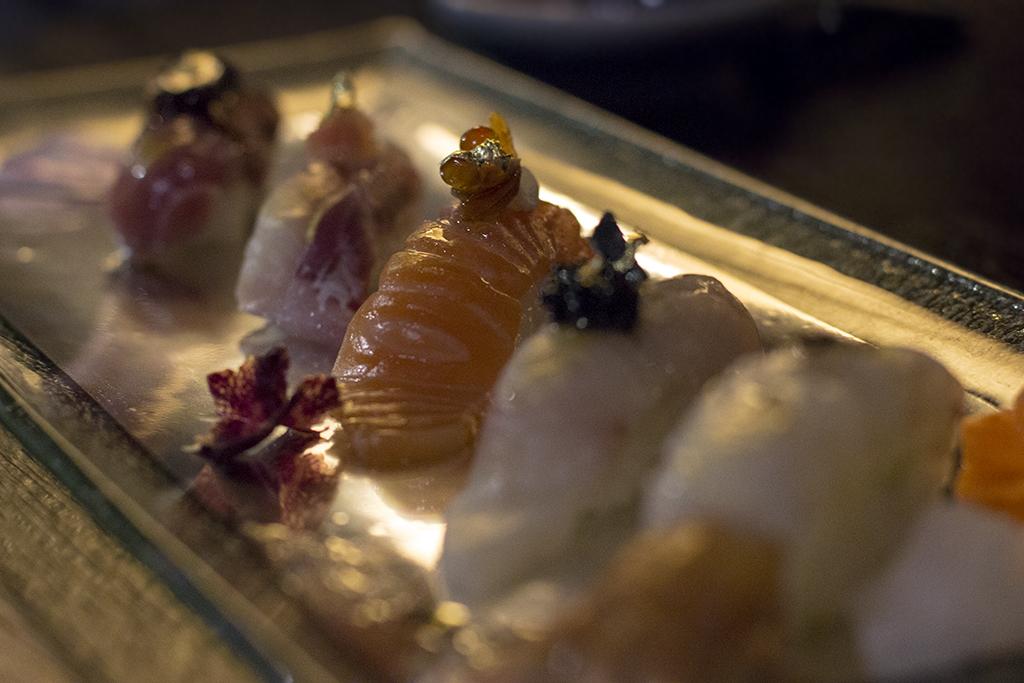 sushi creativo, Sushi B, Nobuya Niimori, Brera, Milano