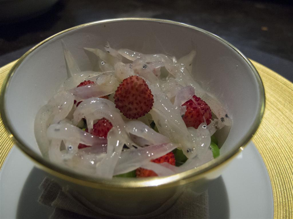 insalata di piselli, Ristorante Del Cambio, Chef Matteo Baronetto, Torino