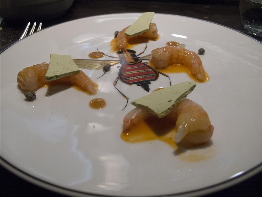 Gamberi, Ristorante Del Cambio, Chef Matteo Baronetto, Torino