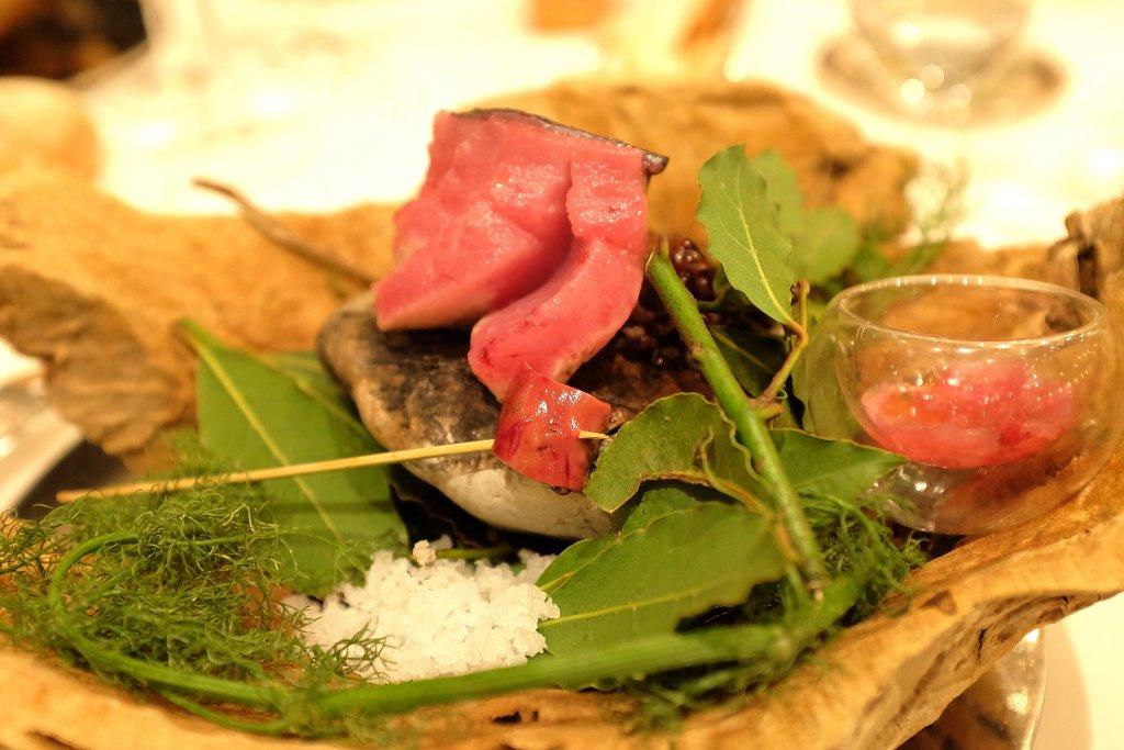 palamita, Taverna del Capitano, Chef Alfonso Caputo, Nerano, Napoli