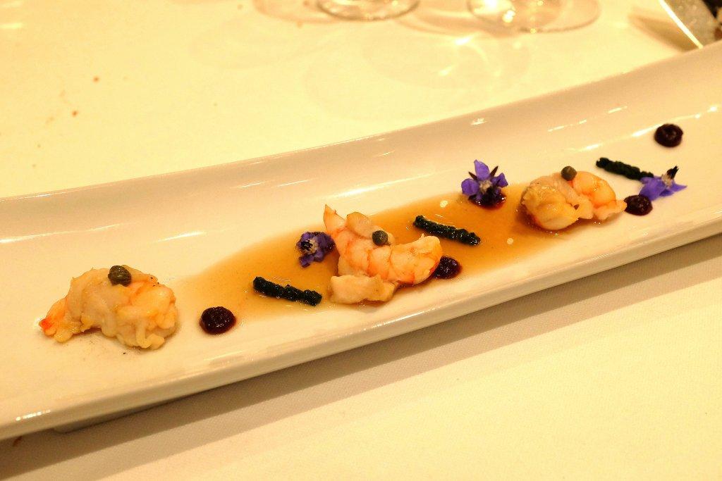Brodo di spine di ricci, Taverna del Capitano, Chef Alfonso Caputo, Nerano, Napoli