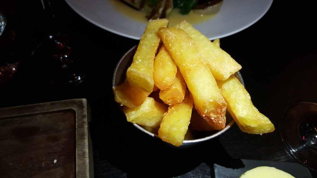 patatine fritte, Heston Blumenthal, London
