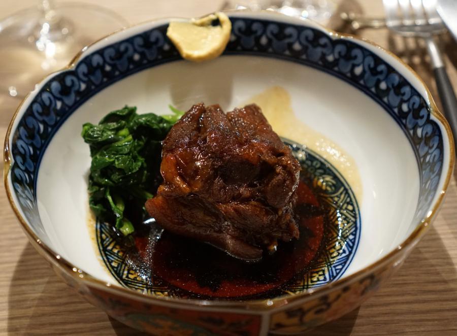 collo di maiale, Bissoh, Chef Mikihiko Sawahata, Beune, France