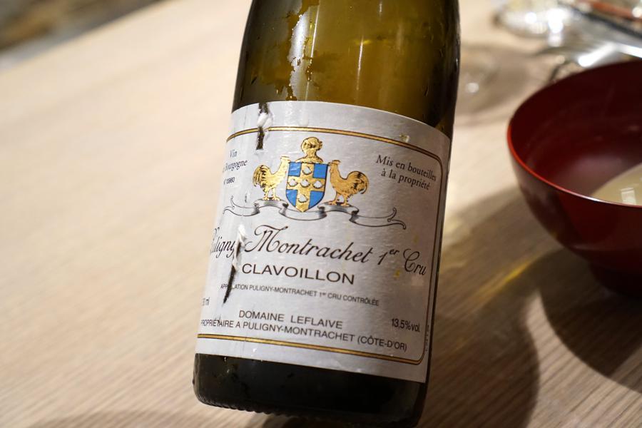 vino, Puligny montrachet, Bissoh, Chef Mikihiko Sawahata, Beune, France