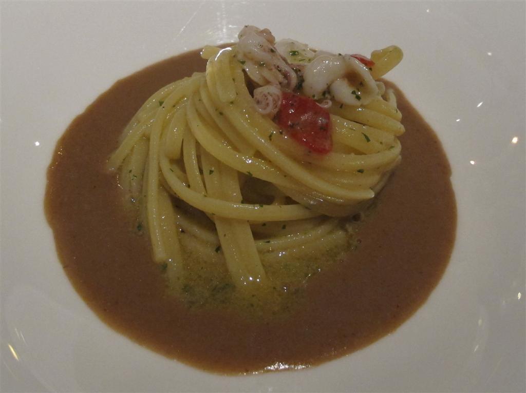 Linguine, Villa Crespi, Chef Antonino Cannavacciuolo, Orta San Giulio, Masterchef