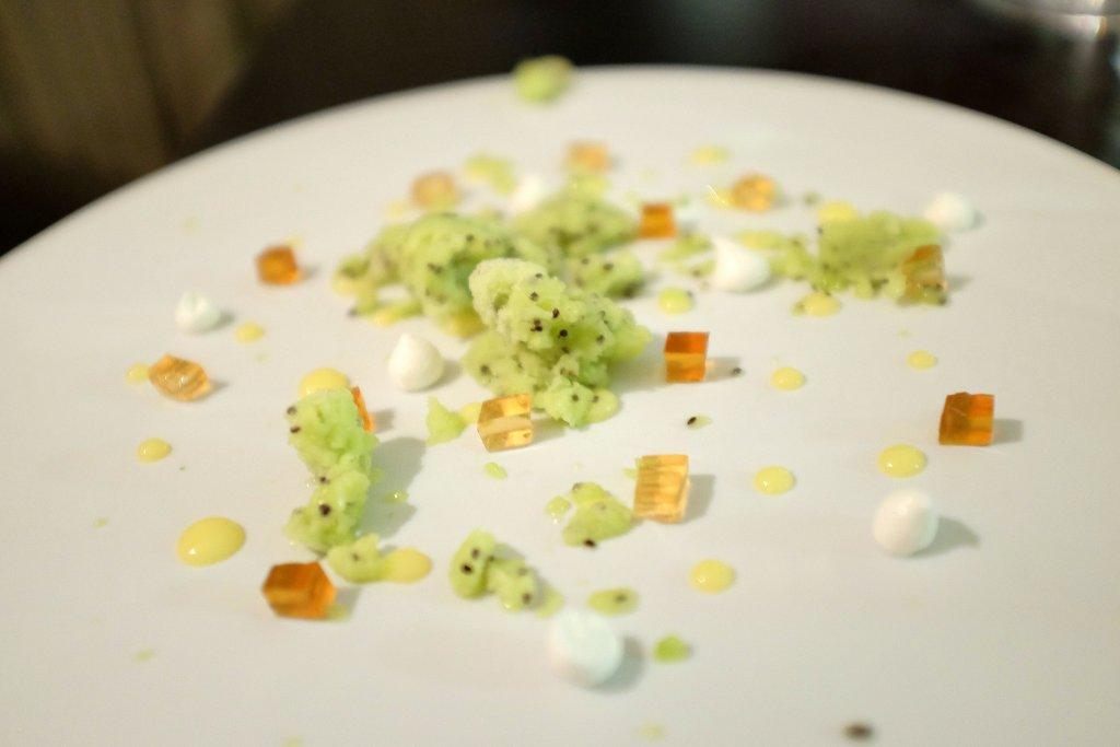 Kiwi, meringa, Kresios, Chef Giuseppe Iannotti, Telese Terme, Benevento
