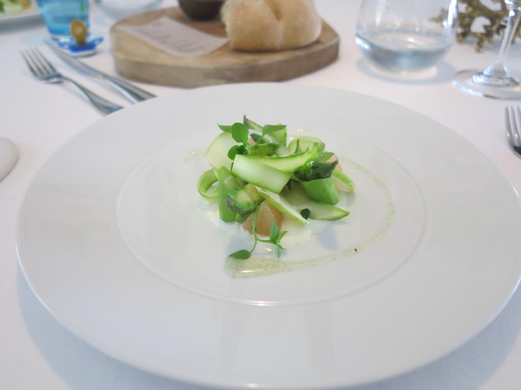 Insalata d'asparagi, Mirazur, Chef Mauro Colagreco, Menton, France