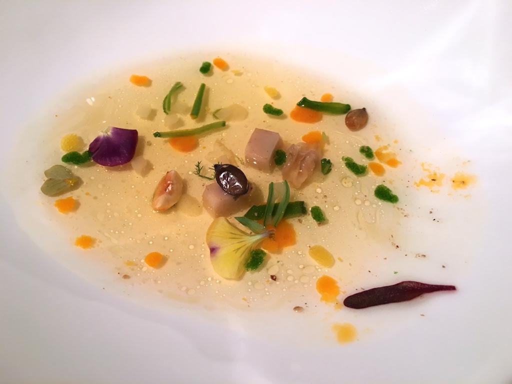 consommé, El Celler de Can Roca, Chef Joan Roca, Girona, The World's 50 Best Restaurants