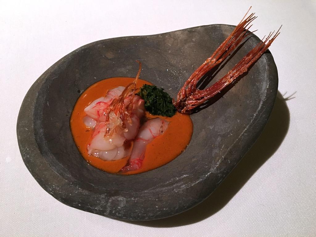 Gambero, El Celler de Can Roca, Chef Joan Roca, Girona, The World's 50 Best Restaurants