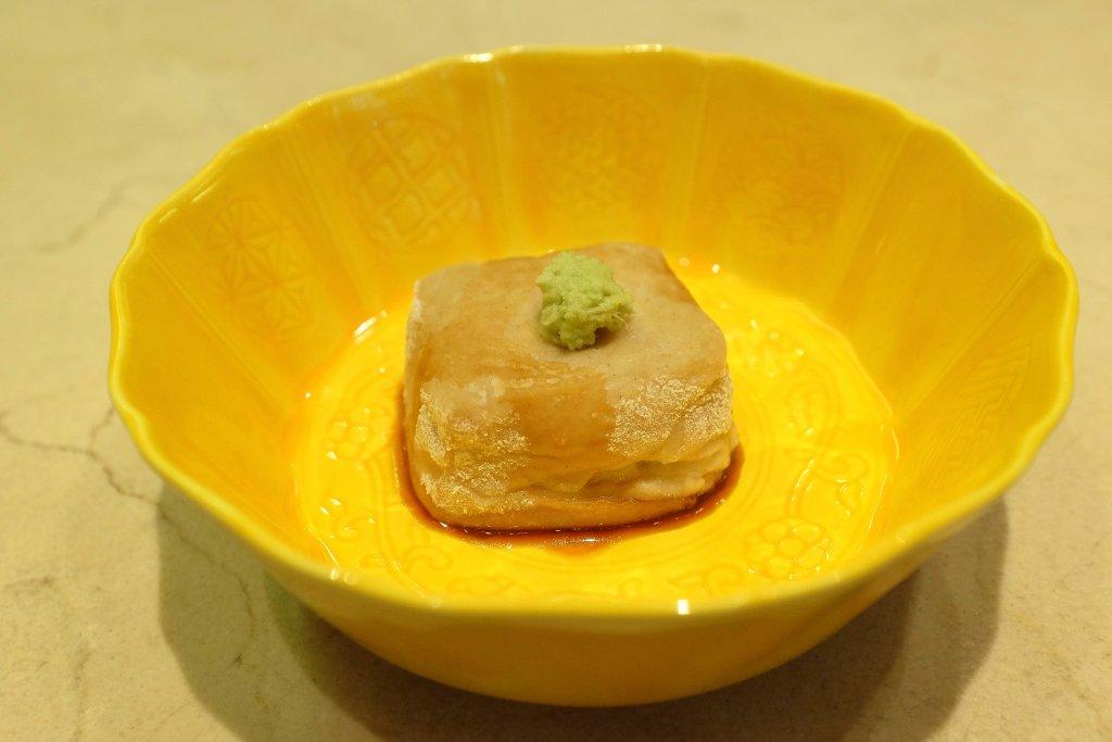 tofu, Sushi B, Chef Masayoshi Hanada, Paris