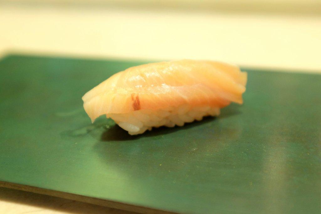 nighiri, ricciola, Sushi B, Chef Masayoshi Hanada, Paris