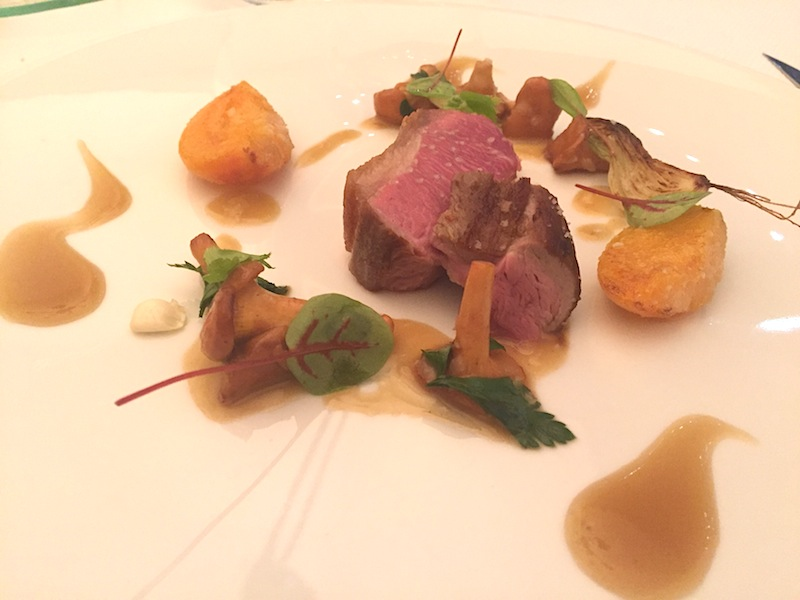 sella d'agnello, Maison Decoret, Chef Jacques Decoret, Vichy, France