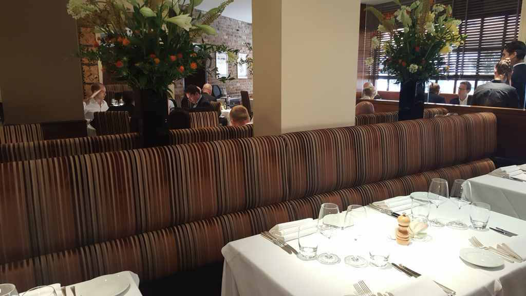 sala, Zafferano Restaurant, Londra