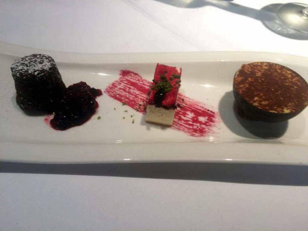 dessert, Zafferano Restaurant, Londra