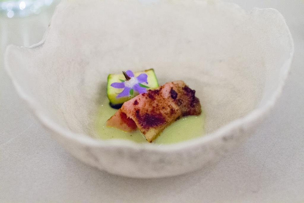 maiale e cetriolo, Blanca, Chef Carlo Mirarchi, Brooklyn