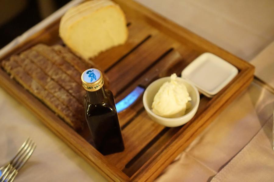 pane, burro, El Brite de Larieto, Chef Riccardo Gaspari, Cortina d'Ampezzo, Belluno