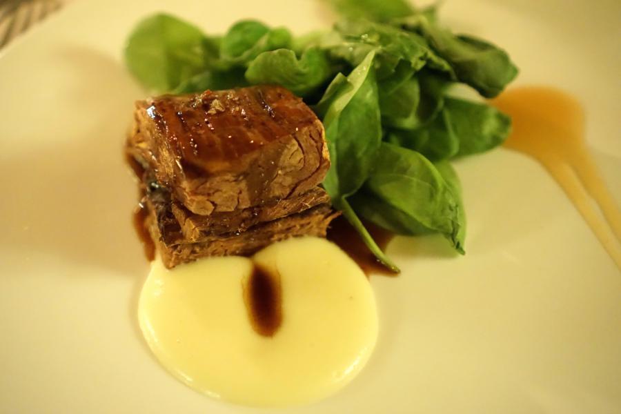 costola di bue, El Brite de Larieto, Chef Riccardo Gaspari, Cortina d'Ampezzo, Belluno