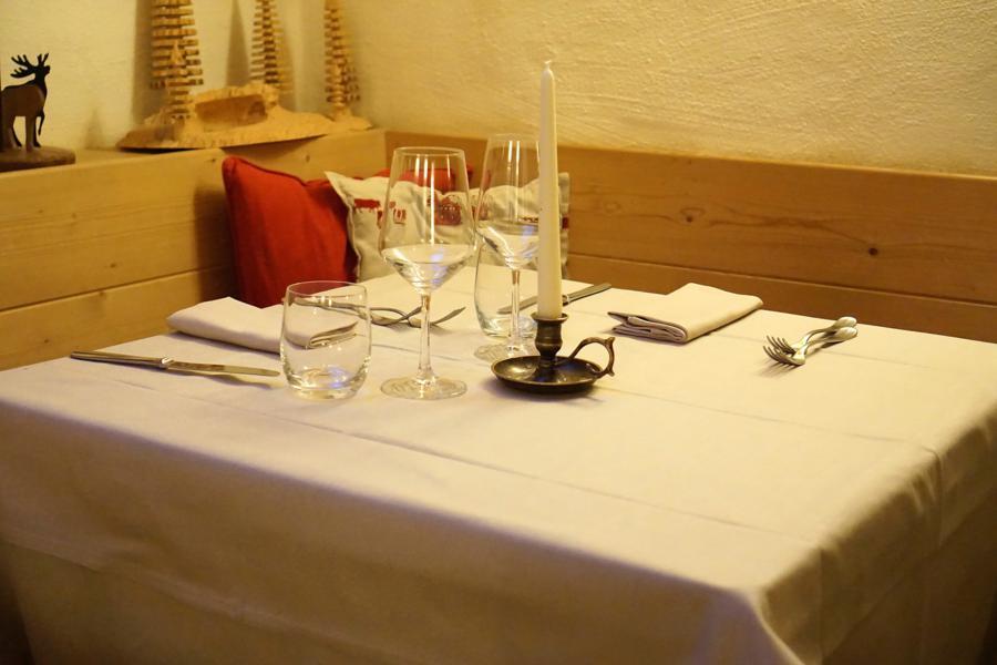 sala, El Brite de Larieto, Chef Riccardo Gaspari, Cortina d'Ampezzo, Belluno