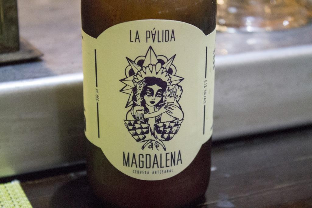 birra, La Mar Cebicheria Peruana, Lima, Perù