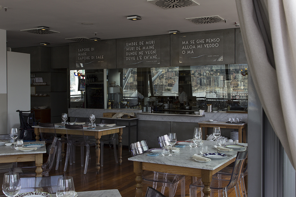 cucina, Il Marin, Chef Marco Visciola, Eataly, Genova