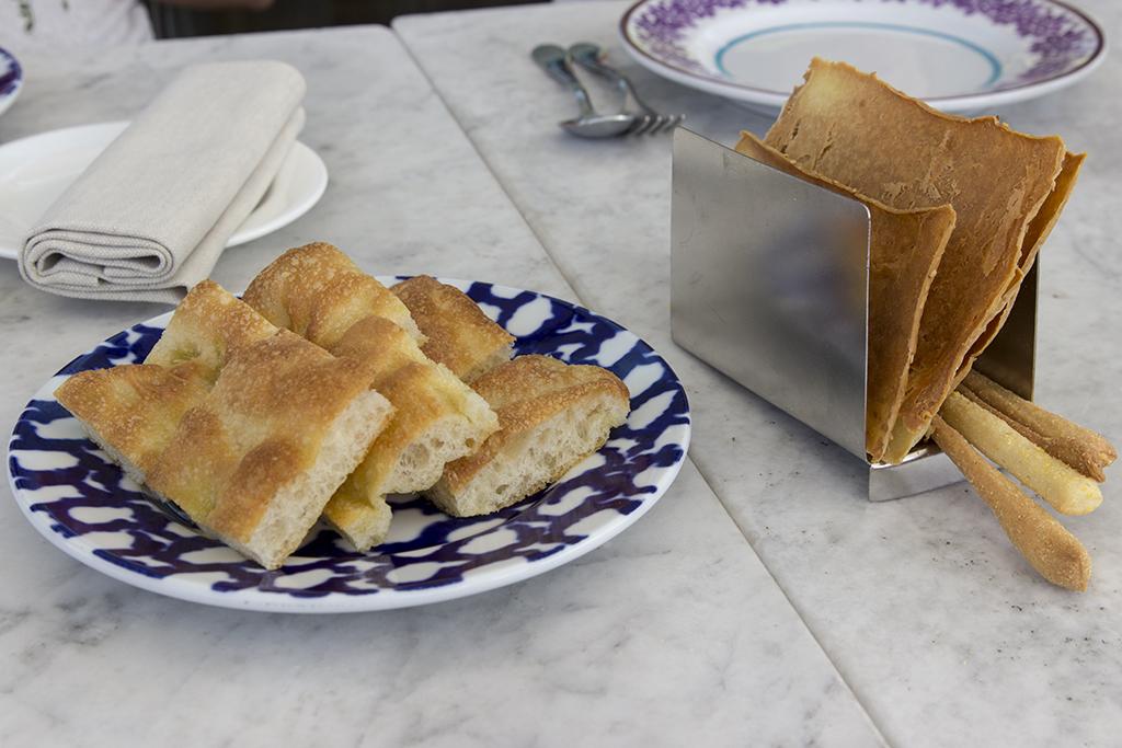 focaccia ligure, Il Marin, Chef Marco Visciola, Eataly, Genova