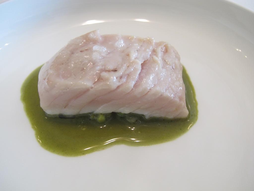 ventresca, bonito, Nerua, Chef Josean Alija, Bilbao, Spagna