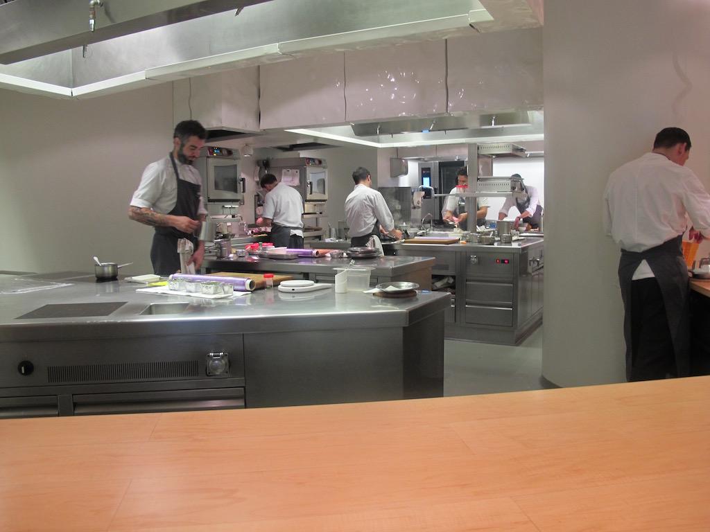 cucina, Nerua, Chef Josean Alija, Bilbao, Spagna, Guggenheim Museum
