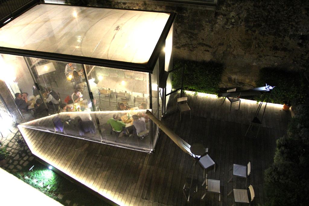 terrazzo, Pepe in Grani, Franco Pepe, Caiazzo, Caserta