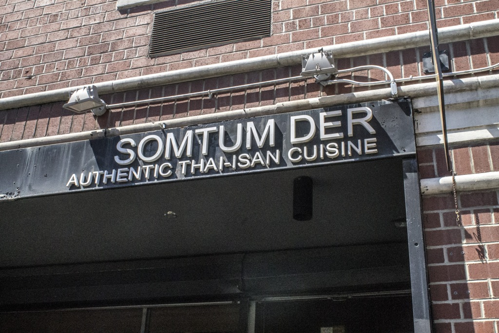 somtum der, thai, New York