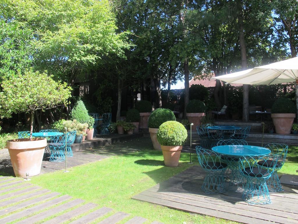 giardino, Troisgros, Chef Michel Troisgros, César Troisgros, Roanne, France