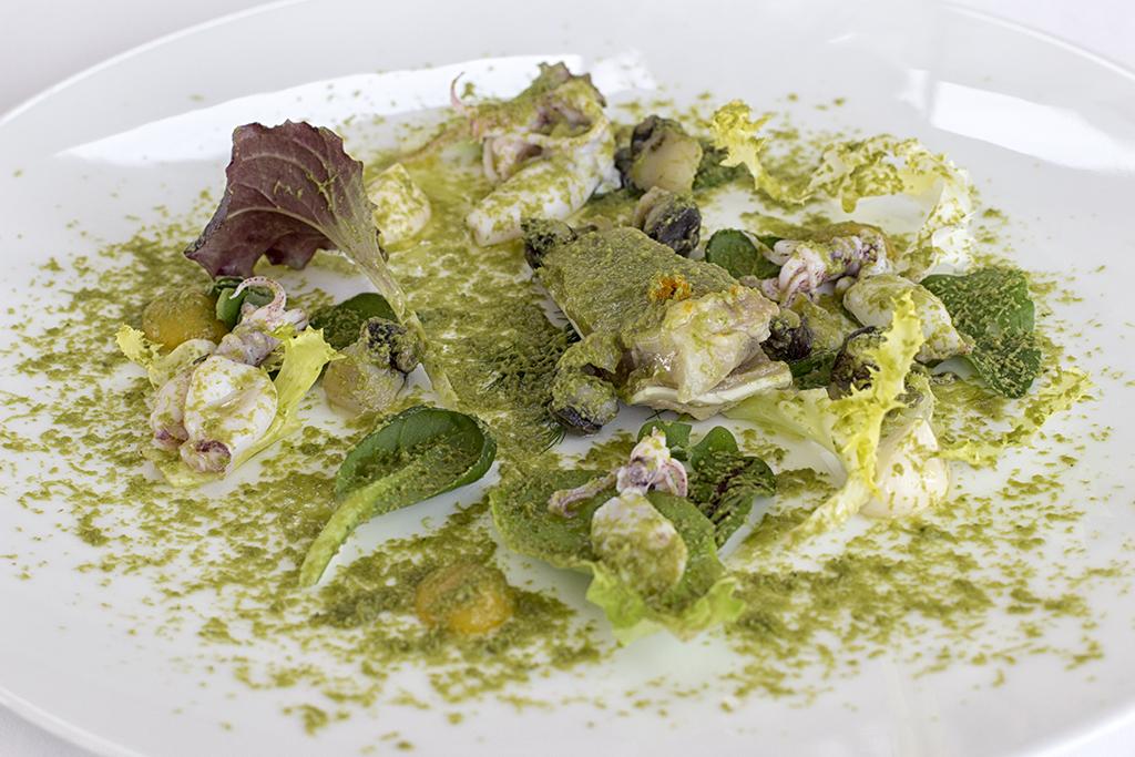 bollito di orecchie, Uliassi, Chef Mauro Uliassi, Senigallia, Ancona, Marche