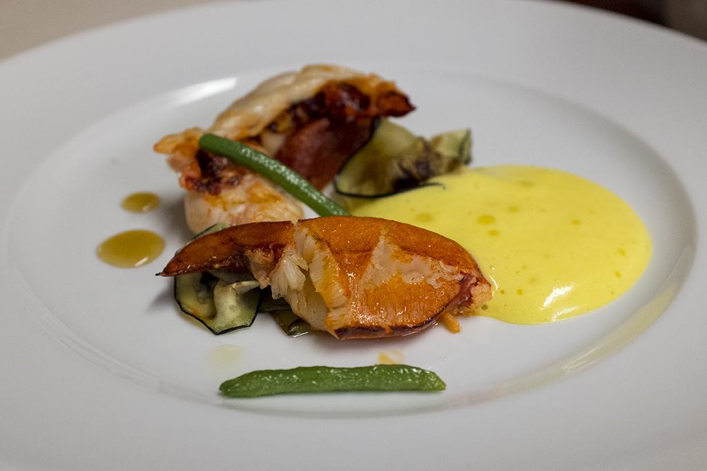 Astice blu, Ristorante Cracco, Chef Carlo Cracco, Milano