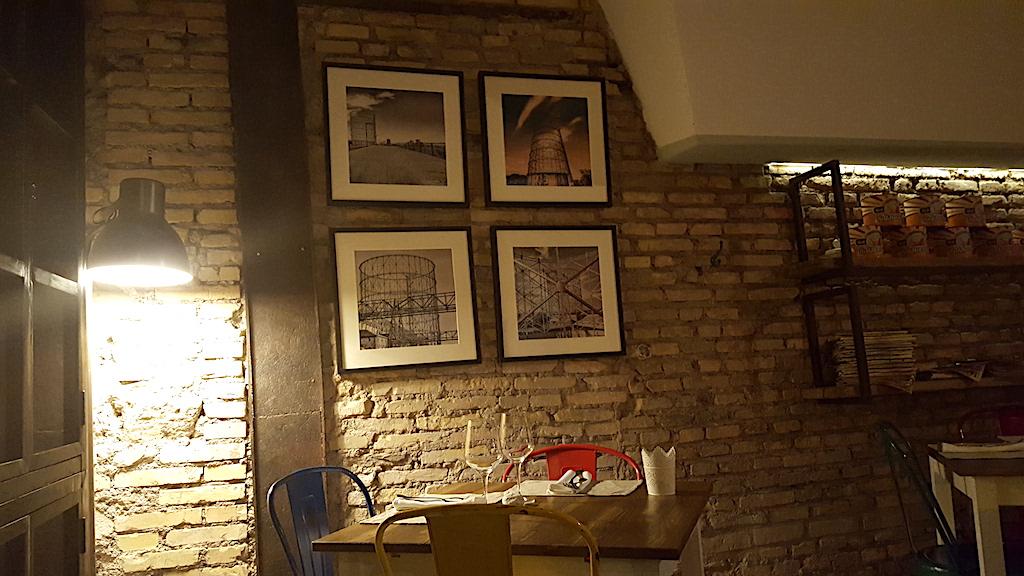 interni, Pizzeria Gazometro 38, Pier Daniele Seu, Roma