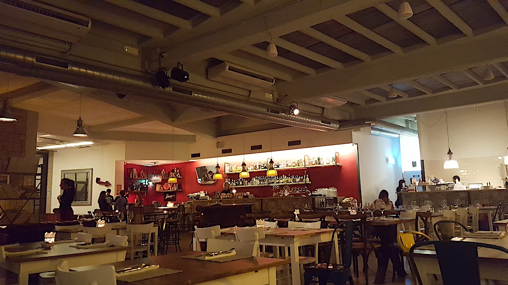 sala, Pizzeria Gazometro 38, Pier Daniele Seu, Roma