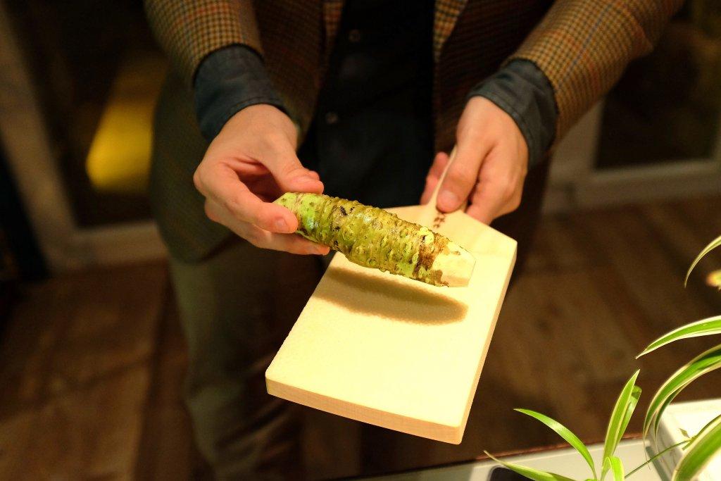 radice di wasabi, The Gelinaz Shuffle #2, sfida con incognita, Camanini, Zaye Hasegawa, lido 84