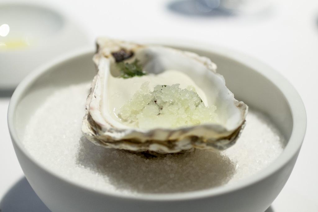 ostrica, Osteria Francescana, Modena, Chef Massimo Bottura