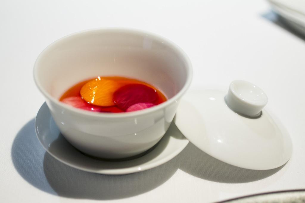 chawanmushi, Osteria Francescana, Modena, Chef Massimo Bottura