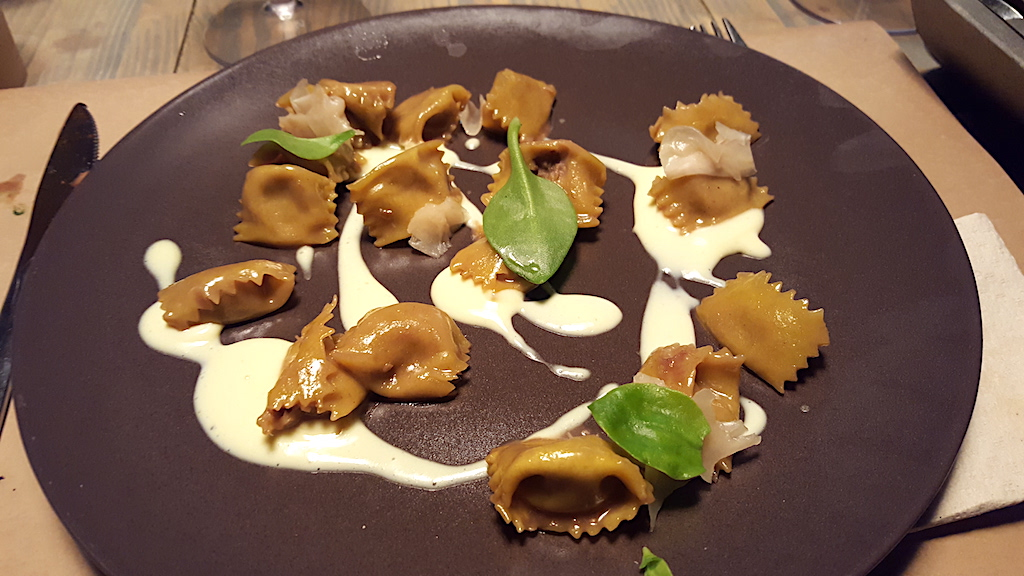 agnolotti del pin, Retrobottega, chef Alessandro Miocchi, Giuseppe Lo Iudice, Roma