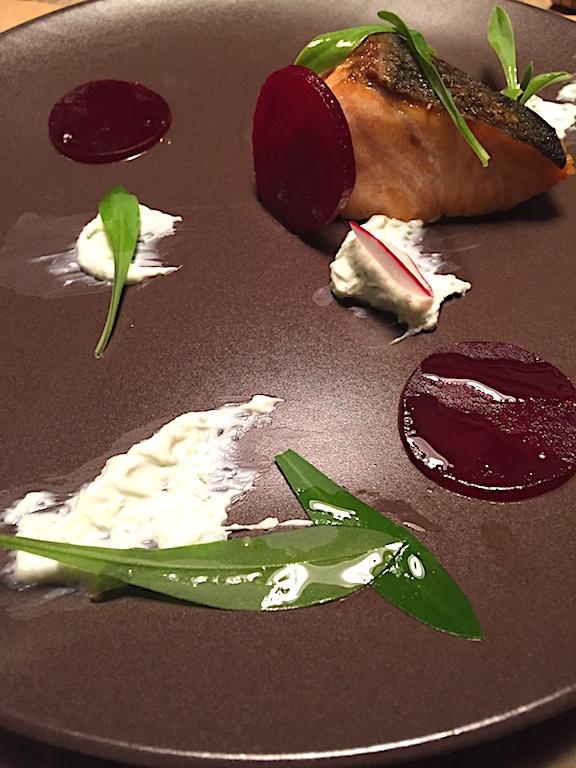 Salmone, Retrobottega, chef Alessandro Miocchi, Giuseppe Lo Iudice, Roma