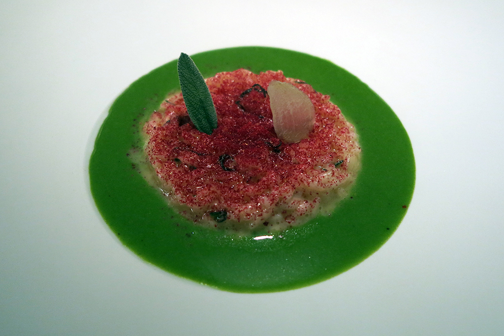 riso in cagnone, Seta, Mandarin Oriental, Milano, Chef Antonio Guida