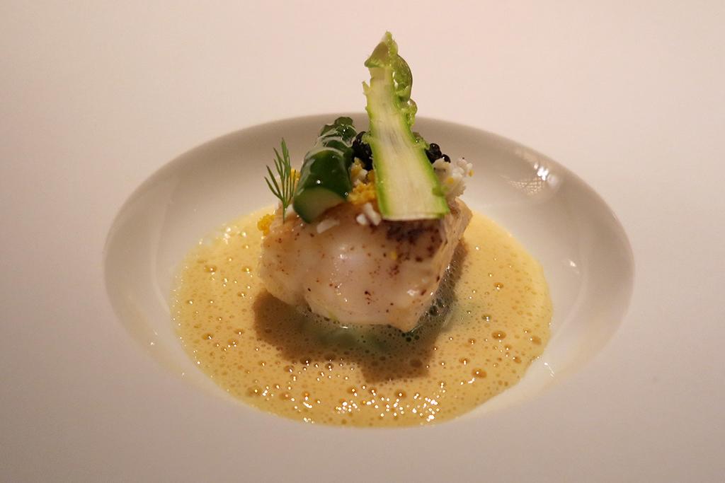 rombo, Seta, Mandarin Oriental, Milano, Chef Antonio Guida