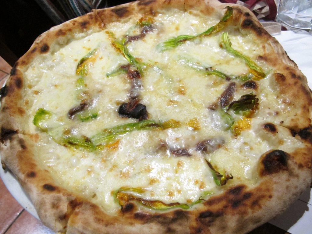 fiori di zucca, Pizzeria Sforno, Stefano Callegari, Roma