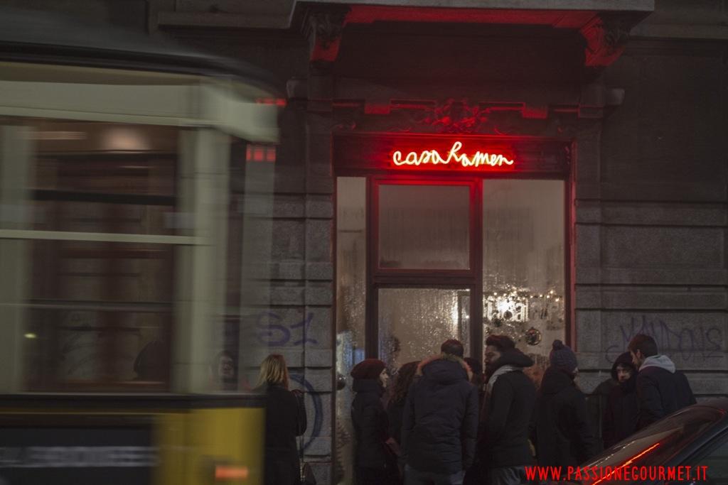 ingresso, Casa Ramen, Milano