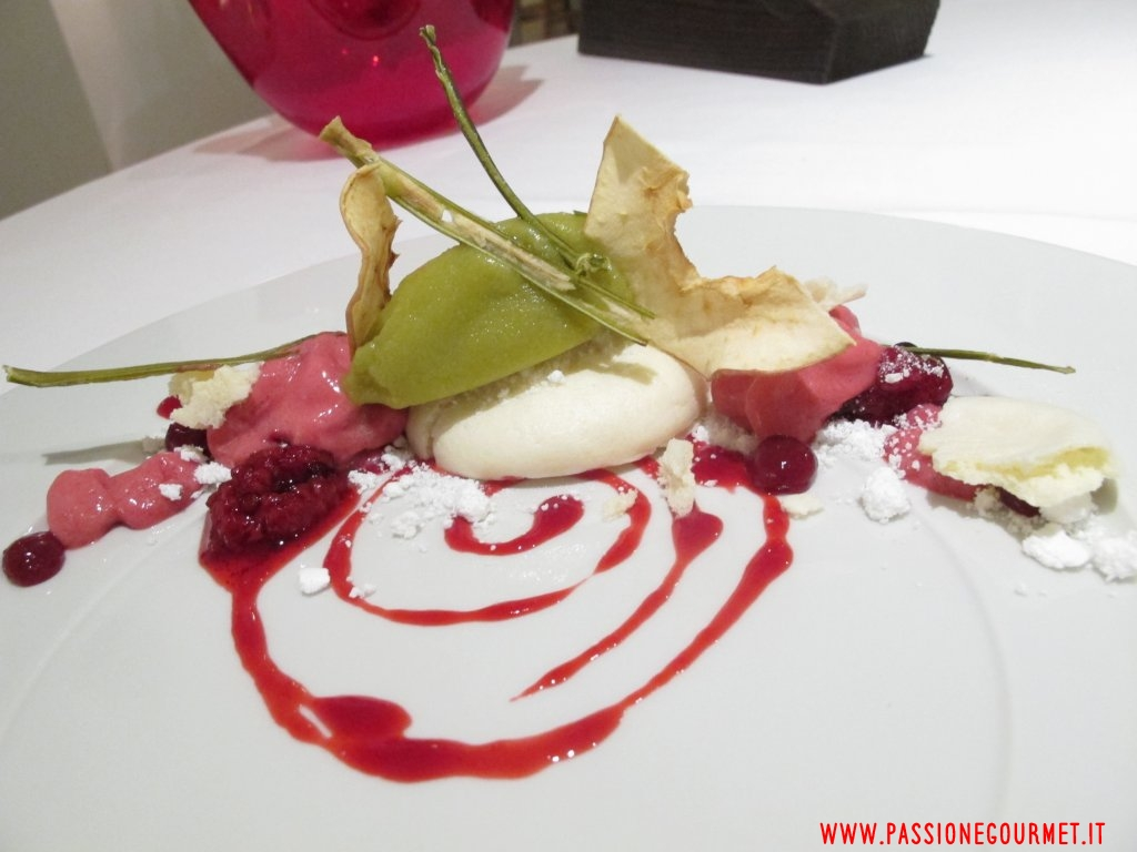 spuma di frutta, San Martino, Chef Raffaele Ros, Verona