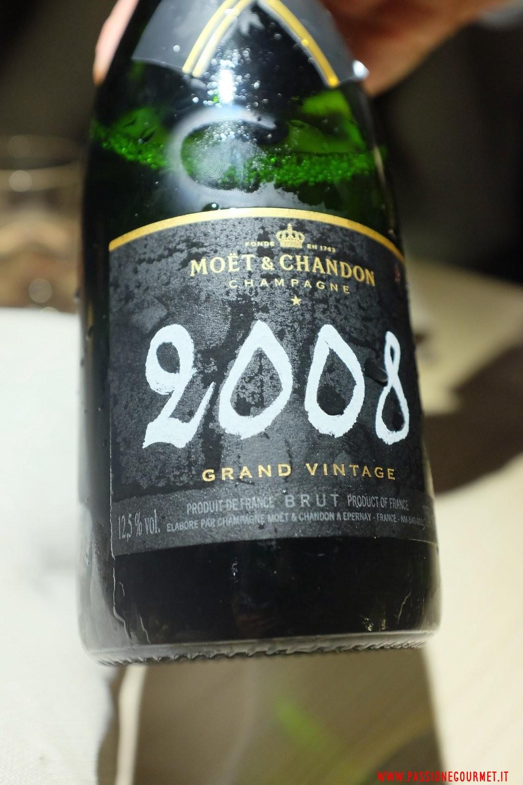 Le Calandre: Moet & Chandon Grand Vintage 2008