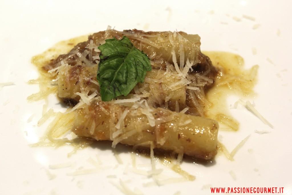 Degusta: genovese di cipolla ramata di Montoro con candele spezzate di Gragnano